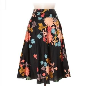 Zara Basic Floral Skirt